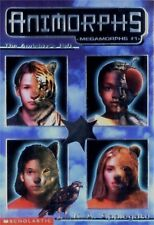 Animorphs Megamorphs The Andalit's Gift K. A. Applegate Scholastic New w Decals