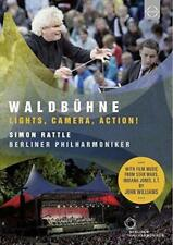 Waldbuhne 2015 From Berlin - Simon Rattle - Camera, Lights, Action! (NEW DVD)
