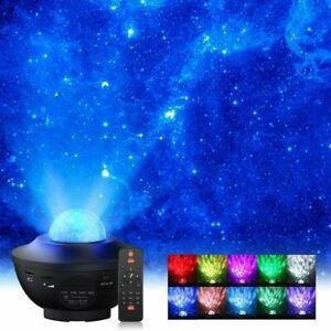 USB Galaxy Star Night Lamp LED Starry Sky Projector Light Ocean Wave + Remote AU