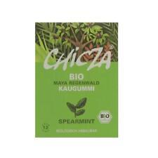 KS (38,00/kg) 10x Chicza Kaugummi Spearmint bio 30 g