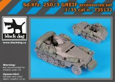 BLACK DOG SET RESINA SD.KFZ.250/3 GREIF 1:35 T35132