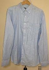 Lee Uniforms Men's Long-Sleeve Oxford Shirt Size XXL 2XL Slim Fit