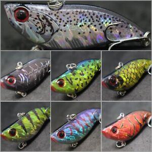 Lipless Crankbait Fishing Lure Bass Fishing wLure 2 1/4 inch 1/2 oz Sinking L802