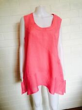Linen Tunic Hand-wash Only Plus Size Tops & Blouses for Women