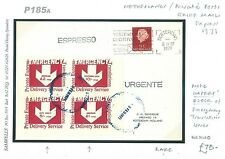 DBP185a 1971GB London Strike Post Private Express Translations/NETHERLANDS