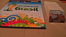 FIFA 2014, BRASIL - PANINI - EMPTY ALBUM AND FULL SET OF STICKERS