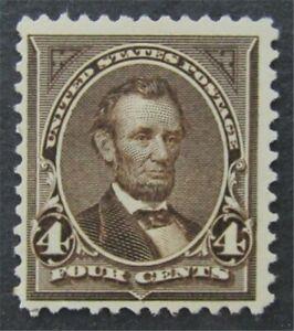 nystamps US Stamp # 269 Mint OG NH $125   L30x1394
