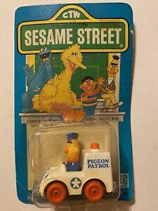 Sesame Street (1981) Bert's Pigeon Patrol Wagon HASBRO Die-Cast Metal Toy Car