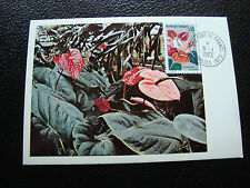 FRANCE - carte 31/1/1973 (anthurium) (cy59) french (A)