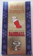 STOCKING STUMPERS~Big League Baseball Quiz Trivia Book~Stuffer~2013 Edition~NEW