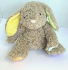 "Animal Adventure Bunny Tan Brown Rabbit Pastel Colored Ears & Paws 8"" Soft"