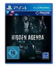 Hidden Agenda (Playlink) PS4 PLAYSTATION 4 New+Boxed