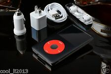2000mah+240GB/256GB SSD iPod Classic 7th Gen 160 GB Black /Red (Latest Model)