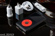 2000mah+240GB/256GB SSD iPod Classic 7th Gen 160 GB Black /Red (Latest Model)