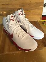 Nike Men's Hyperdunk 2017 Basketball Shoes Size 17.5 (942571-102) White Red