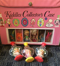 Lot Of Vintage Liddle Kiddles Collector Case Perfume Bottles Dolls & Accessories