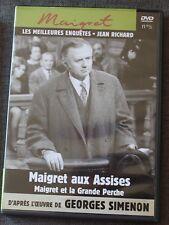 Jean Richard, Maigert aux assises & Maigret et la grande perche, DVD N°5