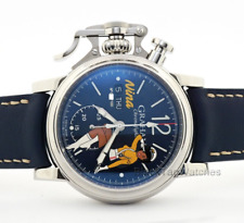 Graham Chronofighter Vintage Nose Art Nina 2CVAS.U04A.L129S Limited Mens Watch
