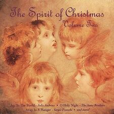 "THE SPIRIT OF CHRISTMAS, CD ""VOLUME TWO"" NEW SEALED"