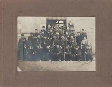Groupe de fantassins avec équipement complet du 89ème régiment , vers 1875