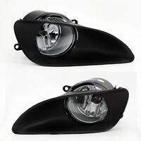 Toyota Yaris 06-11 4dr Sedan Front Bumper Clear Fog Lights Lamps w/ Switch