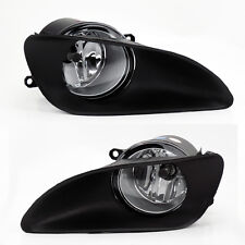 Front Bumper Clear Fog Lights Lamps w/ Switch for Toyota Yaris 06-11 4dr Sedan