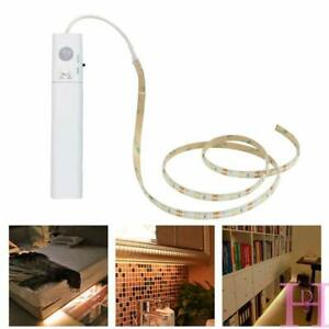 Wireless PIR Motion Sensor LED Night light 2835 5V LED Strip 3M TV USB Battery