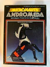 Micronauts Baron Karza & Andromeda with box MEGO Micronauti Microman Takara