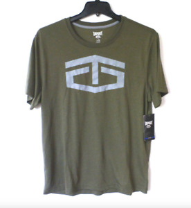 Tapout Shirt Mens Large Burnt Olive 2 The Core Moisture Management Tee Shirt New