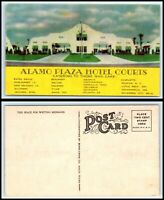 Advertising Postcard - Alamo Plaza Hotel Courts N16