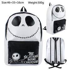 The Nightmare Before Christmas Jack Boy Girl Backpack knapsack School bag Travel