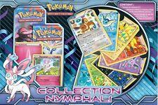 Carte Pokémon Coffret Collection Nymphali Neuf / Scellé / Français 2014
