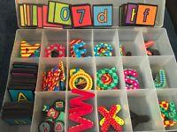 Magnetic Letters &  Numbers Alphabet Fridge Magnets Preschool Learning 100+