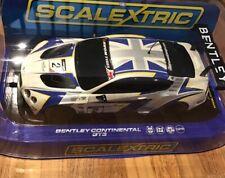 Scalextric : Bentley Continental GT3 ( C3515 )