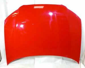 2008-2012 AUDI A3 8P7 CONVERTIBLE FRONT BONNET HOOD - BRILLIANT RED LY3J GENUINE