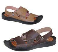 Mens Sandals Casual Beach Walking Beach Summer Slipper Fashion Flip Flop Size
