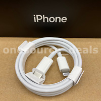 Genuine Apple USB-C to Lightning Cable Fast Charge iPhone 7 8 Plus XR XS 11 Pro