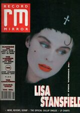 Lisa Stansfield on Magazine Cover 11 November 1989   The Creatures  Wonder Stuff