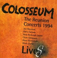 COLOSSEUM LiveS The Reunion Concerts 1994 (2015) 8-track CD album NEW/SEALED