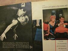 Rock Hudson, Three Page Vintage Clipping