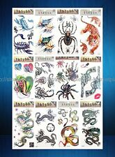 12 sheets wholesale gun temporary tattoo tramp stamp cover up