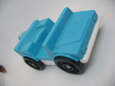 Vintage fisher price little Family play people voiture car 4x4