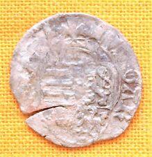 Medieval Silver Coin - V. Ladislaus Denar. (1440-1453) B P  Mintmark