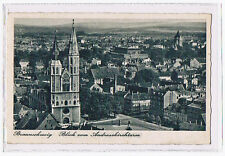 AK Braunschweig - Blick vom Andreaskirchturm auf die Katharinenkirche - vor 1945