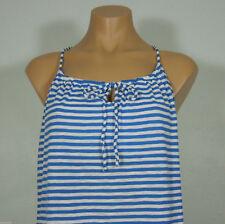 128a09b4279c6 OLD NAVY White Blue Stripe Bra Cami Top size S