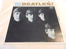 Meet The Beatles LP First Album Third Pressing Capitol T2047 East Coast Pressing
