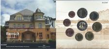 """1x Coffret BU (9 pièces) série Luxembourg 2020 """"Ville de Remich"""" (neuf)"""