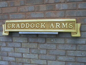 HOME BAR SIGN LARGE PUB TAVERN INN WOODEN HOUSE NAME BUSINESS 50mm LETTERS
