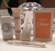 Flowerbomb By Victor&Rolph Body Cream Chloe, Diptyque Perfume Vials Mini Set