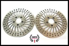 HARLEY FRONT BRAKE DISC ROTORS Touring Road King Street Electra Glide 2008 & up
